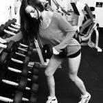 Idolising Instamodels   Skinny Girl In The Gym