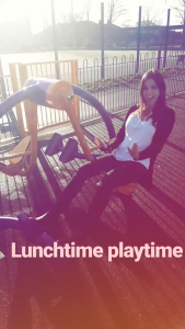 Leg press in the park