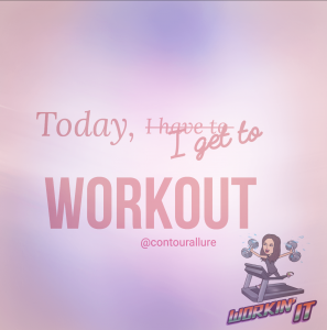Workout quote: Today I get to work out with bitmoji.