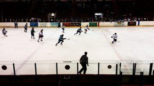 Blackburn Hawks v solway sharks ice hockey match