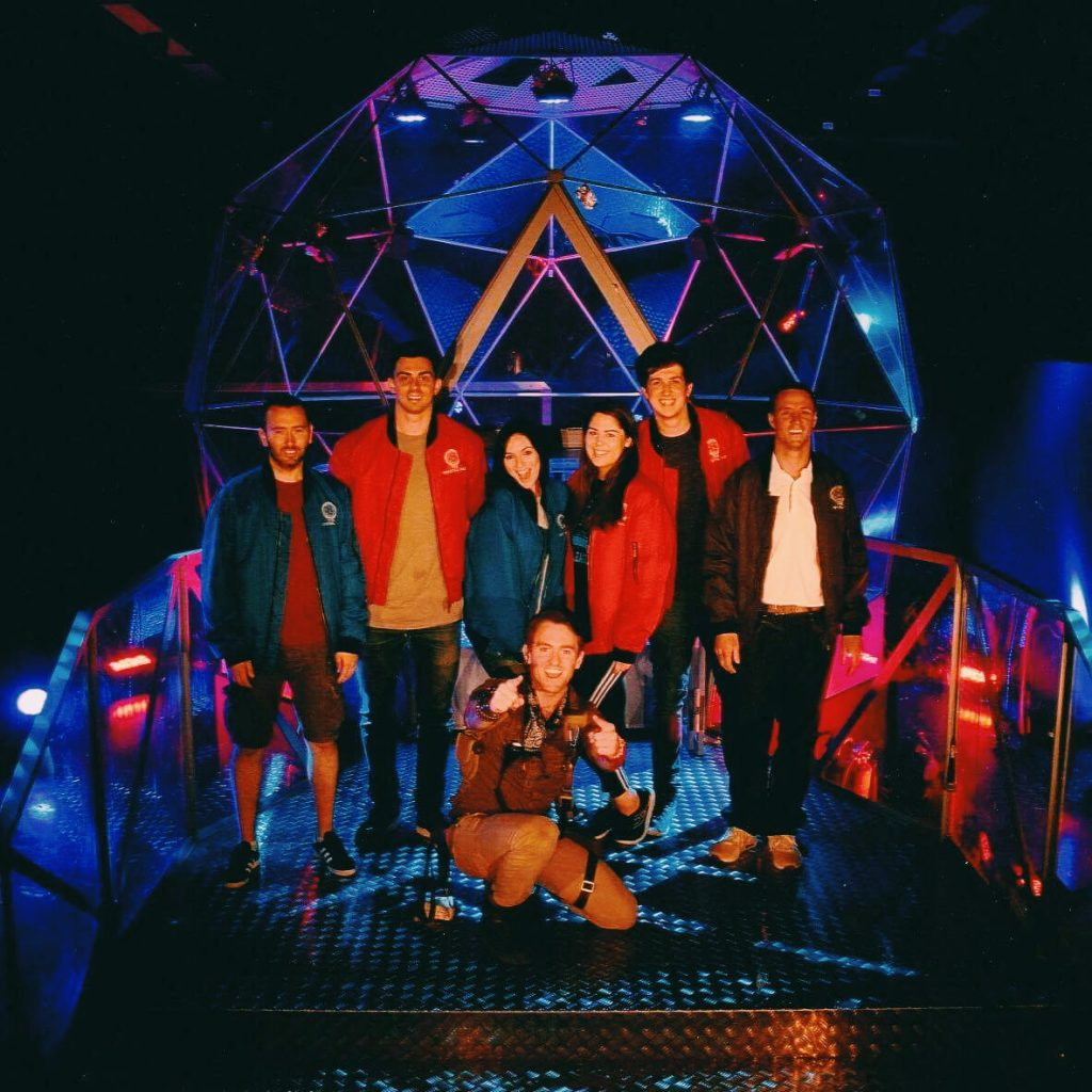 The dome in the crystal maze