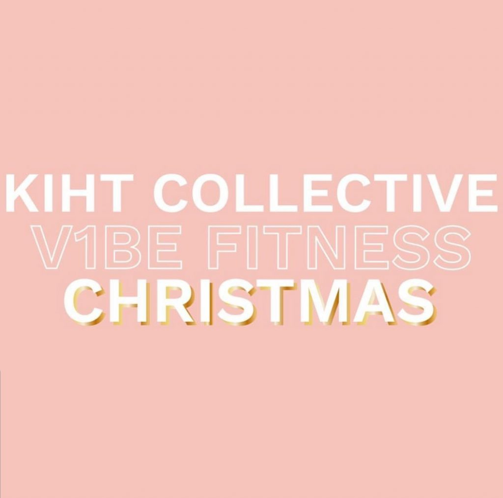 KIHT Collective V1BE Fitness Christmas Invite