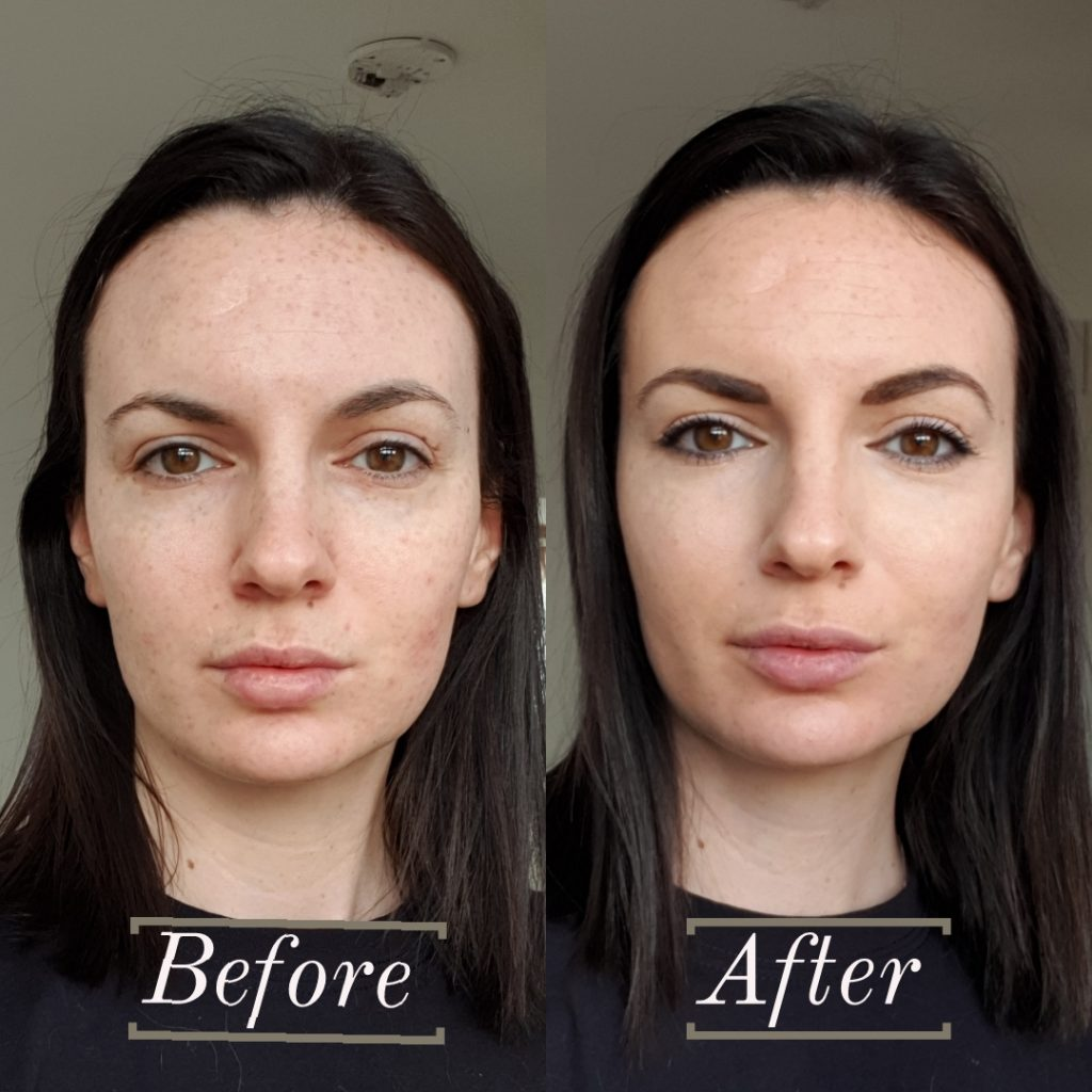 SportFX Cosmetics Before and After